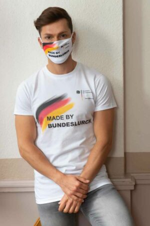 "Bundeslurch-Maske ""Made by Bundeslurch"""
