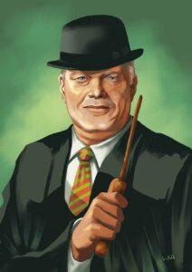 Porträt von Zaubereiminister Ulrich Kelber (Foto: Bundesamt für magische Wesen)