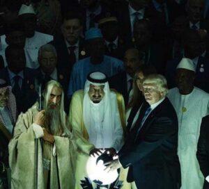 Die Achse des Bösen: Saruman, Königs Salman bin Abdul Aziz und Präsident Donald Trump