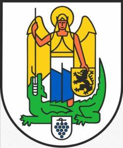 Das Wappen der Stadt Jena zeigt vermutlich die Produktion von Drachenstopfleber
