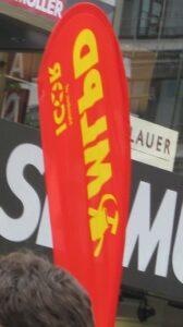 Die Marxistisch-Leninistische Partei beweist, dass der Leninismus sein untotes Haupt reckt. (Foto: Carmilla DeWinter)